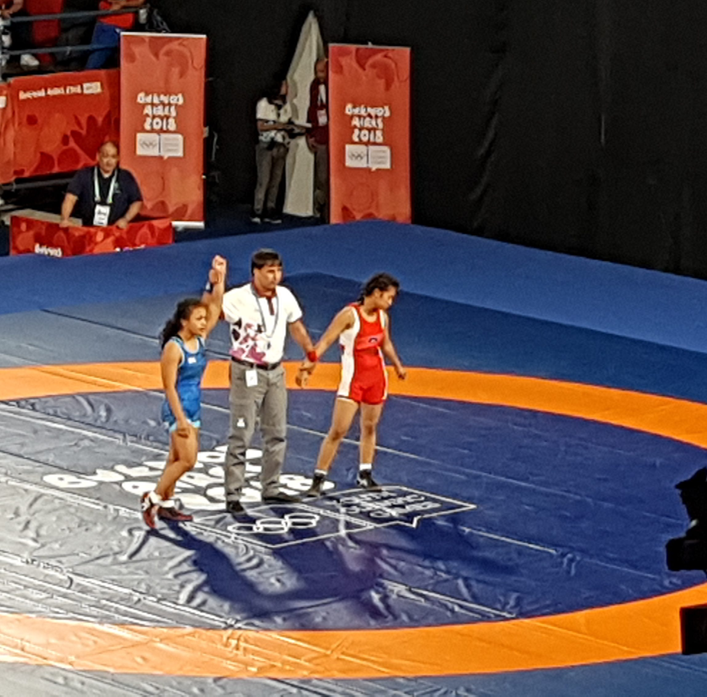 Paulina Duenas wins match at Youth Olympics