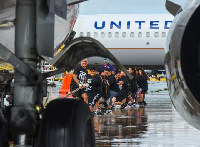 United Airlines 13th Annual Plane Pull
