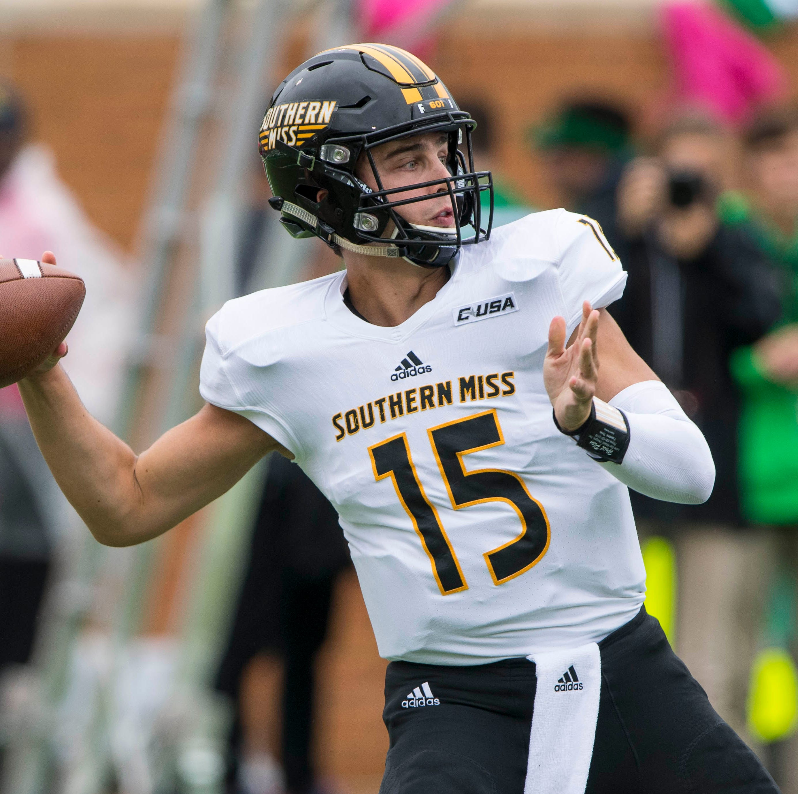 Depth charts, lineups for Southern Miss at UAB