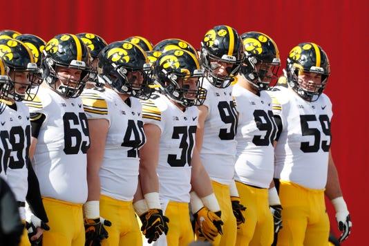 Ncaa Football Iowa At Indiana