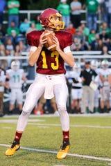 Scecina quarterback Mac Ayres