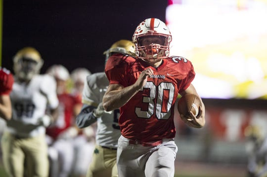 Friday's opponent — Warren Central — is the only team to keep Carson Steele below 100 rushing yards this season.