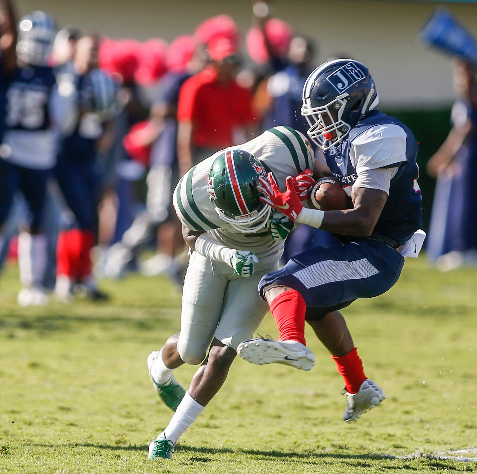 Jackson State grinds out homecoming win over Mississippi Valley State