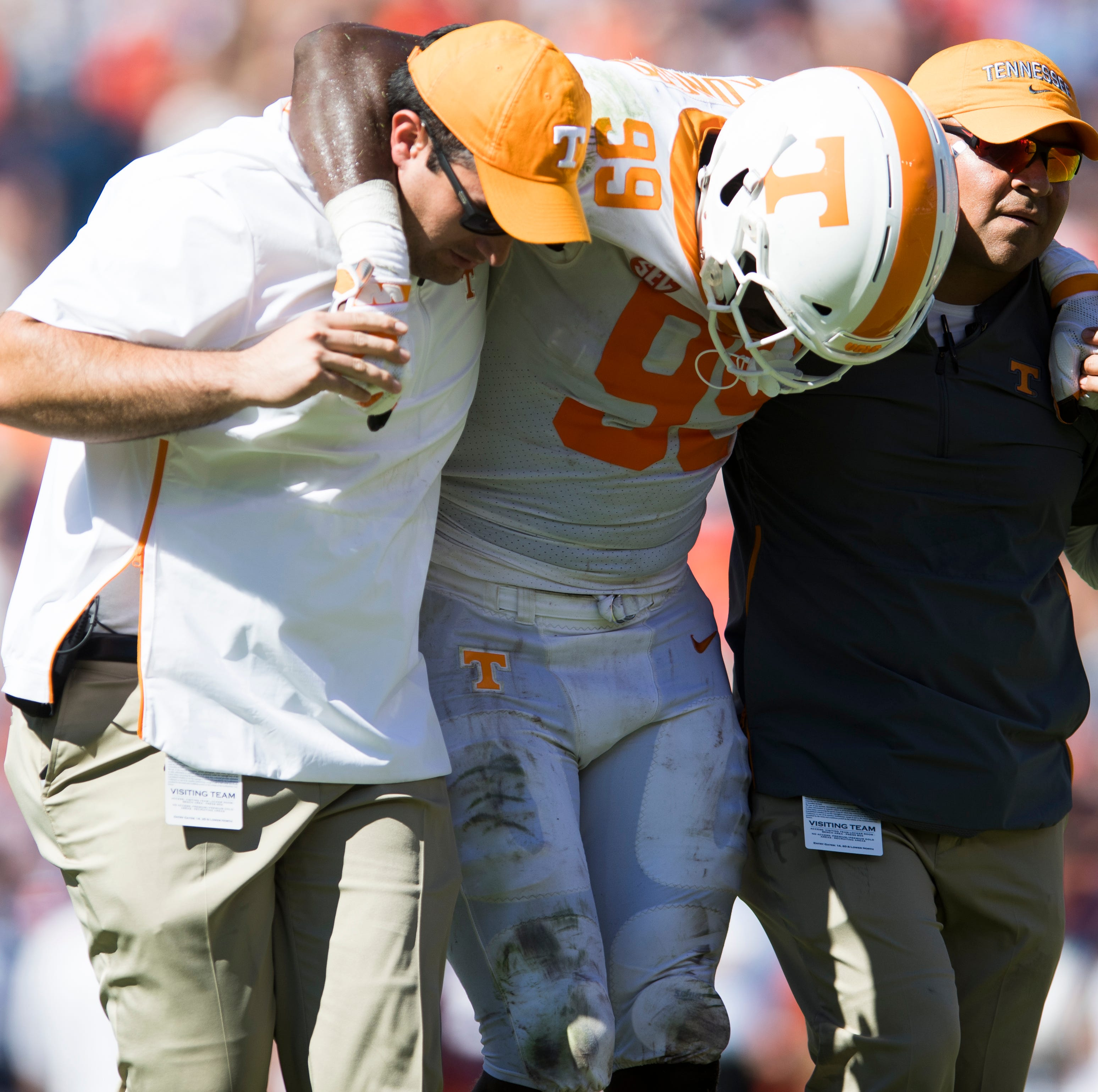 UT Vols' Jonathan Kongbo out for season with torn ACL
