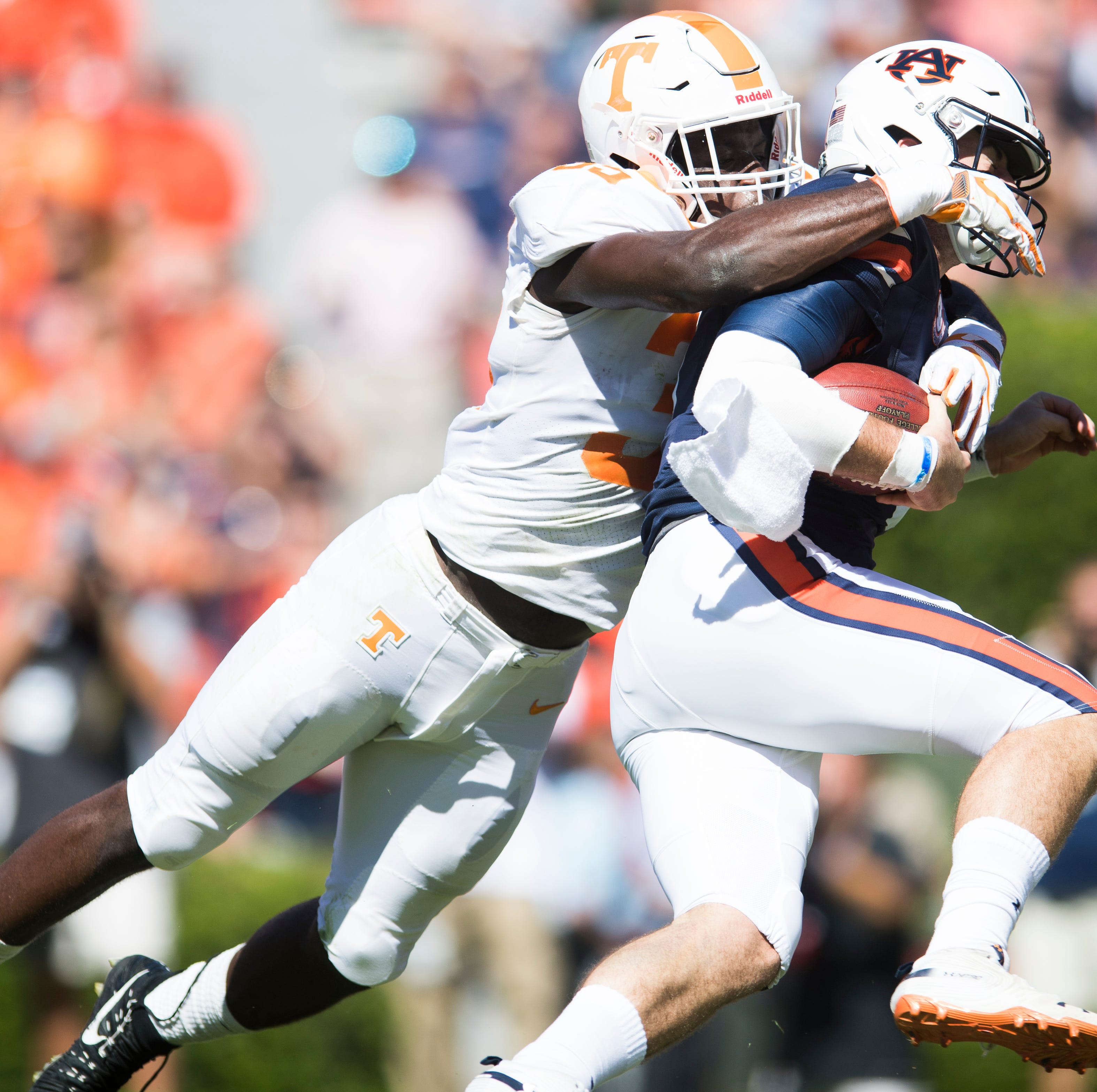 UT Vols coach Jeremy Pruitt has no gripe with targeting call on Daniel Bituli