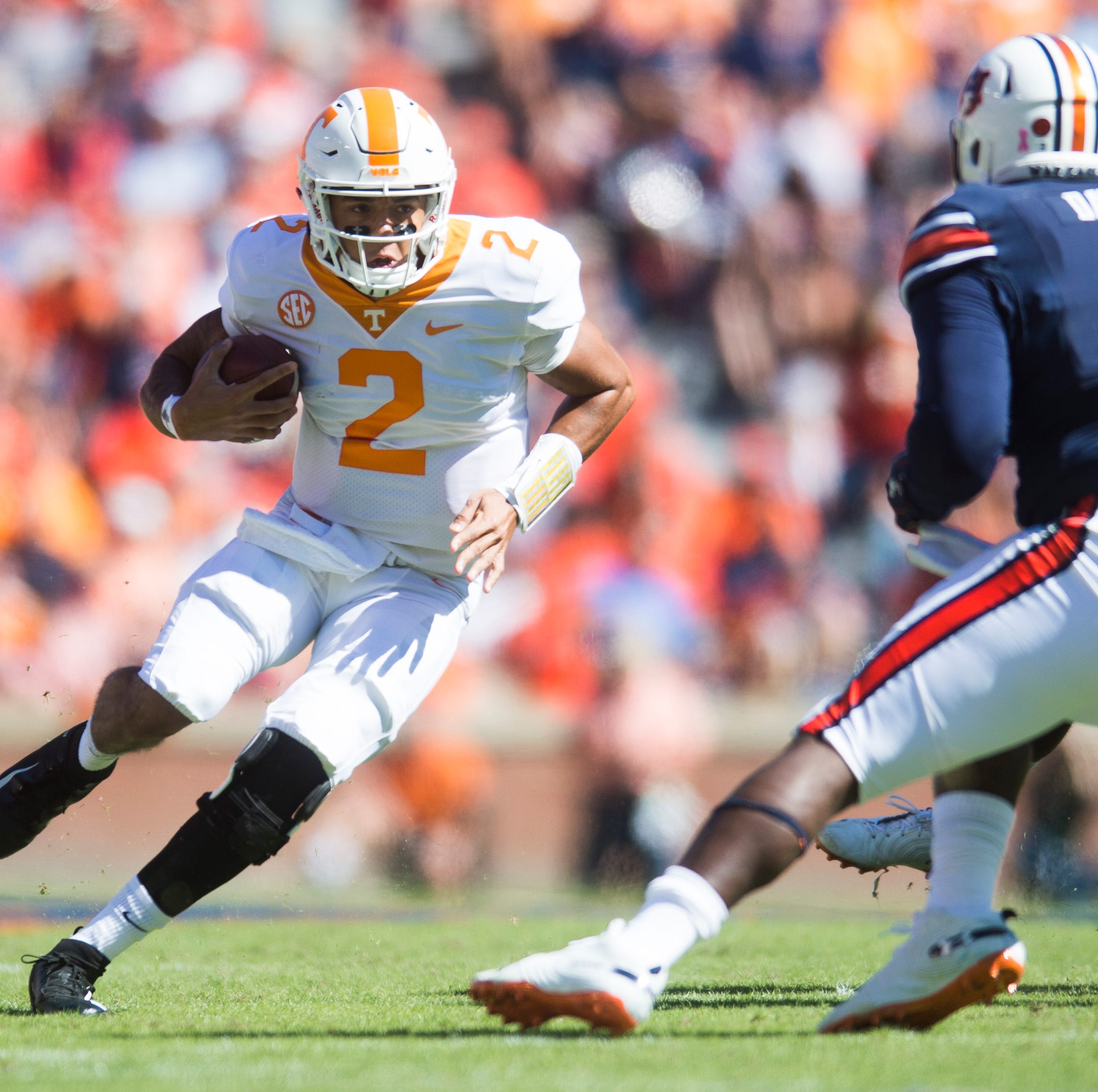 UT Vols: Kirk Herbstreit tells Jarrett Guarantano to 'keep grinding' after beating Auburn