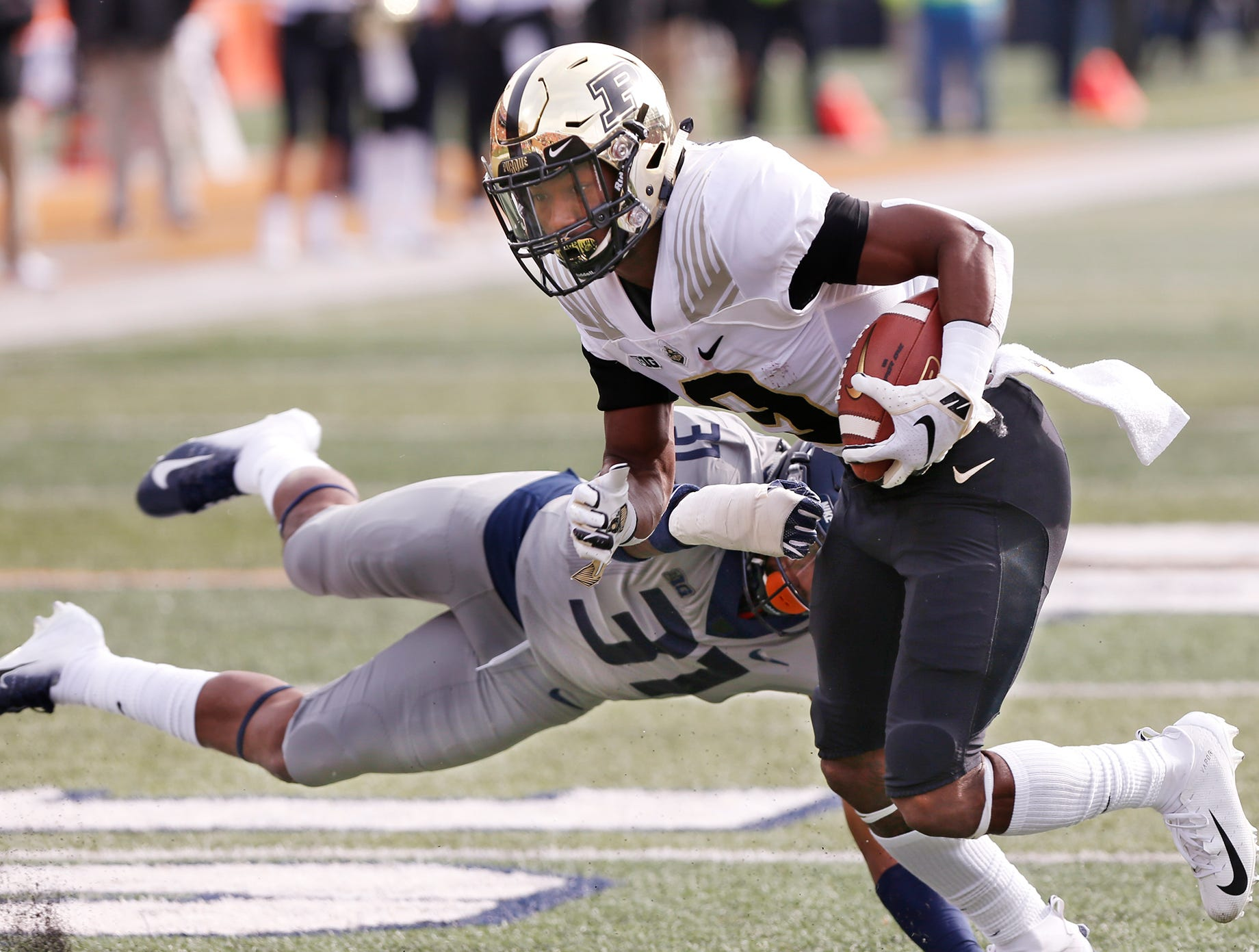 Purdue 46, Illinois 7: Grading the Boilermakers
