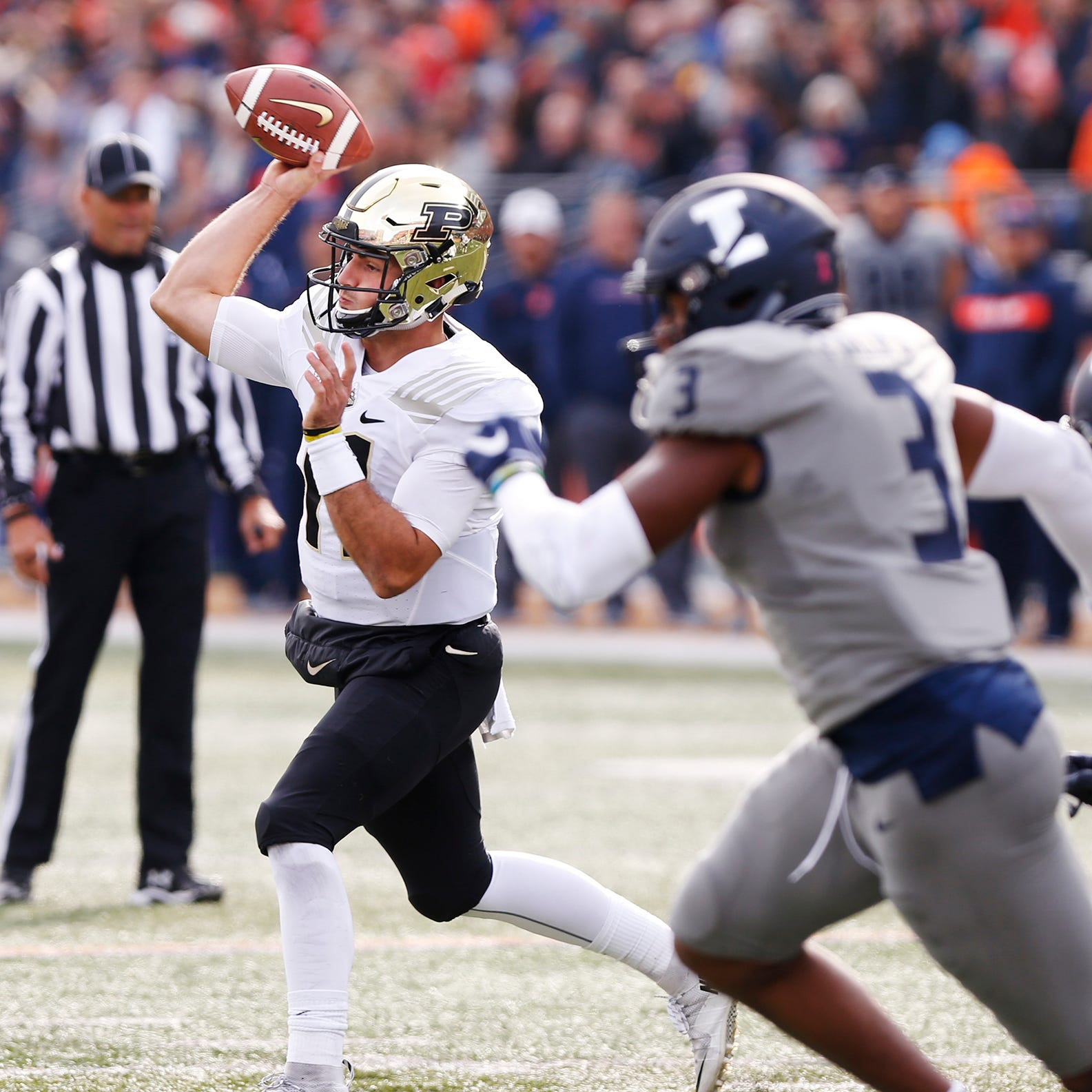 David Blough tops Purdue football offense midseason awards