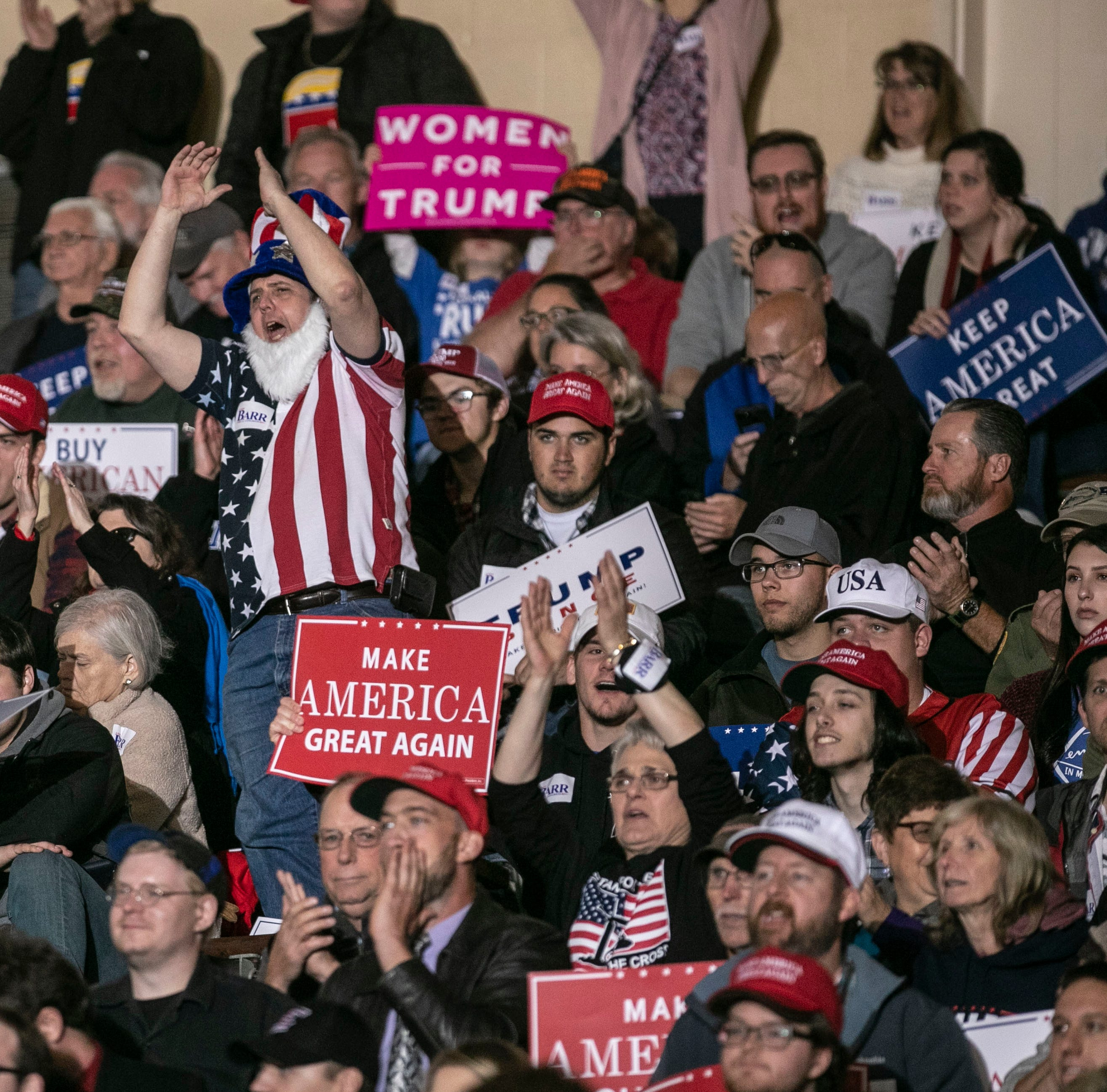 Trump rally in Richmond, Kentucky: What's happening live