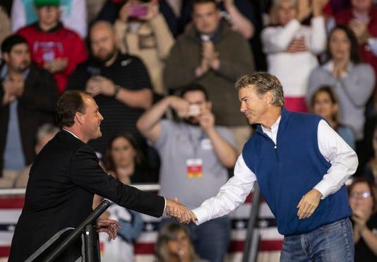 Trump Rally In Richmond Kentucky