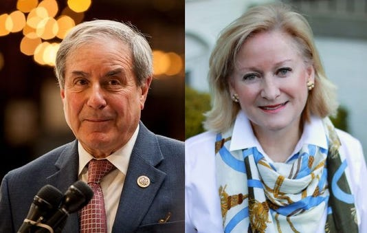 John Yarmuth and Vickie Yates Brown Glisson