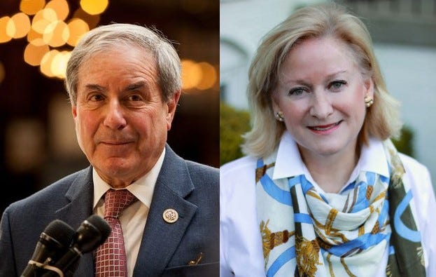 U.S. Rep. John Yarmuth (left) and Vickie Yates Brown Glisson, his challenger in the 2018 election.