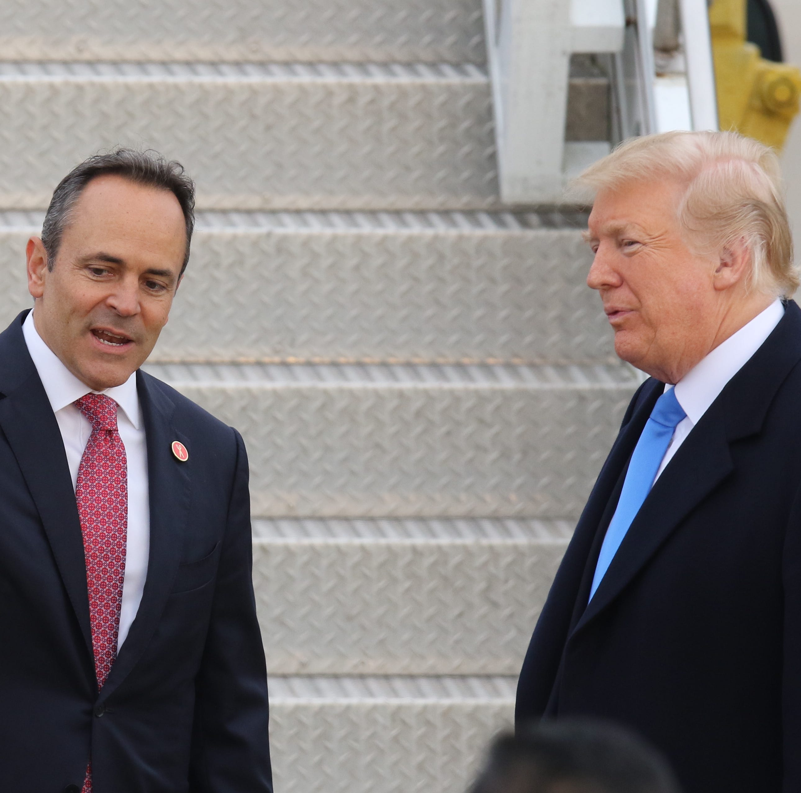 Bevin gets a primary election boost from Trump with phone message sent to voters