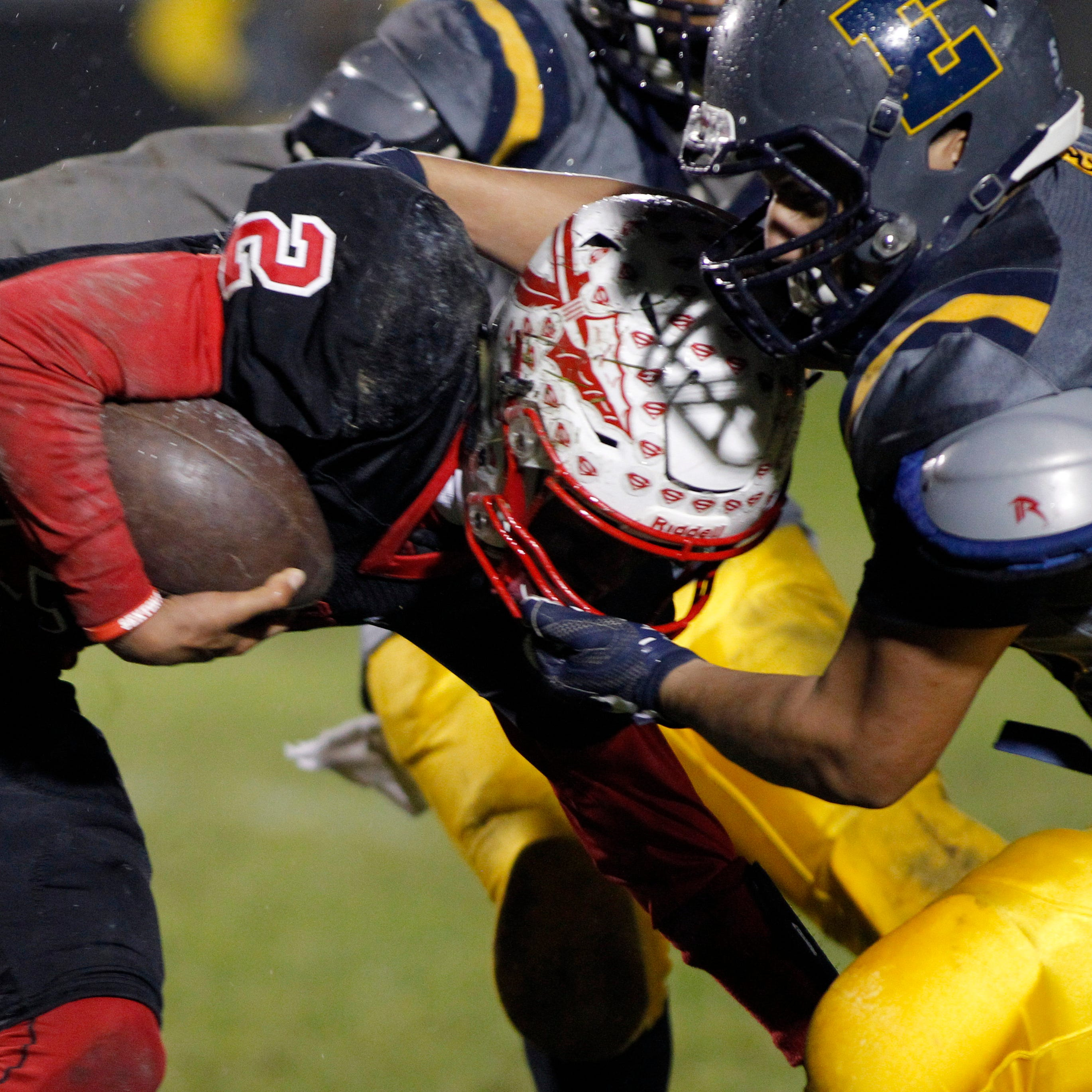 Lansing area high school football scores for Week 9