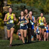 See the action from the girls race at the Greater Lansing Cross Country Championships and hear remarks from race winner Jaden Theis.