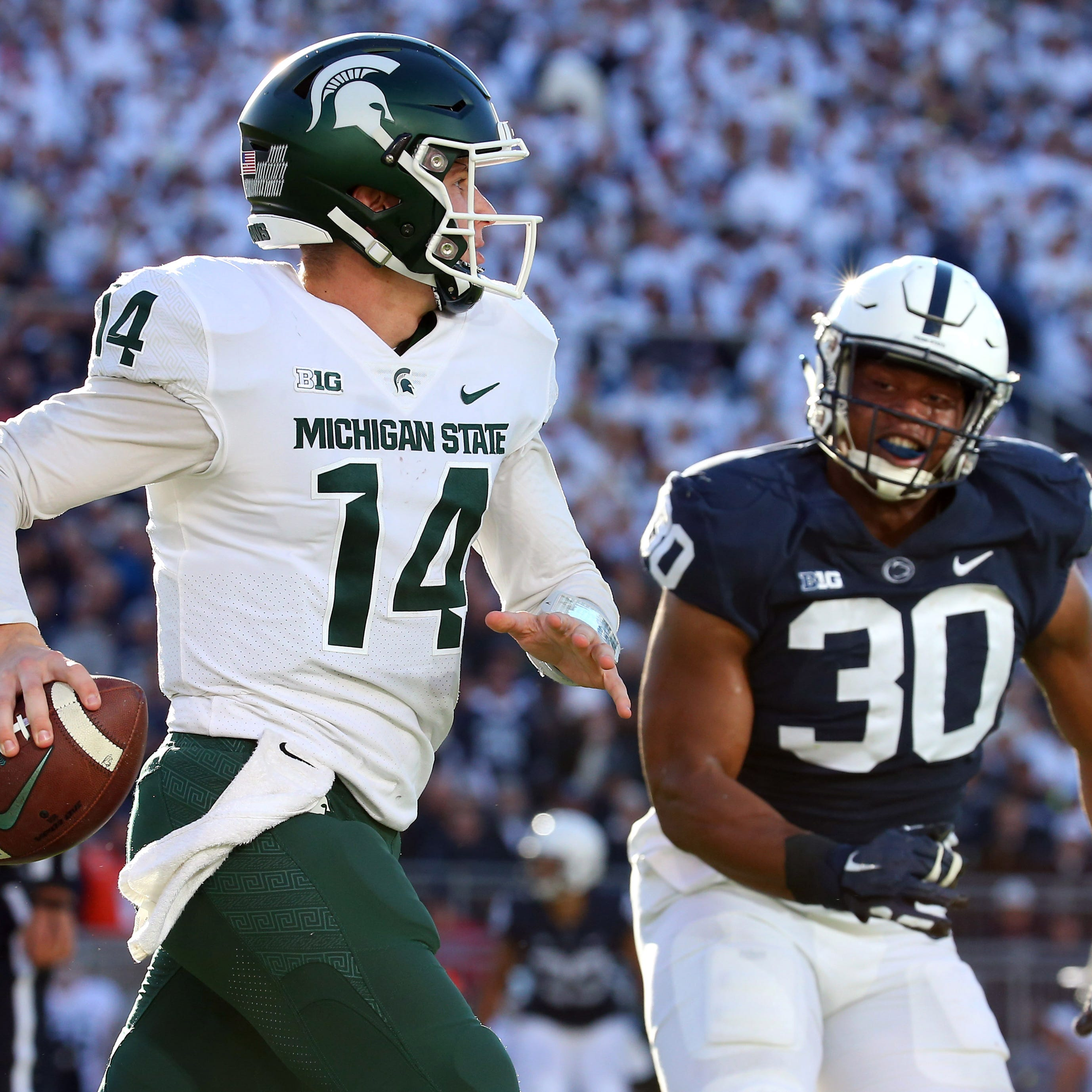 Couch: 3 quick takes on Michigan State's 21-17 win at Penn State