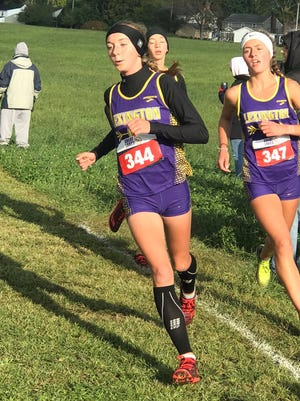 Lexington's Joanna Halfhill led the Lady Lex team to its 10th consecutive Ohio Cardinal Conference championship with a first place finish last season