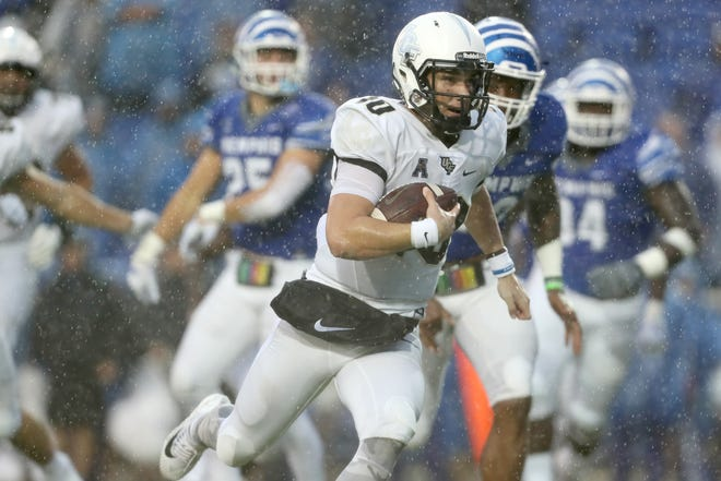 McKenzie Milton and the UCF Knights were riding a 23-game win streak when the QB was injured in the 2018 season finale against South Florida.