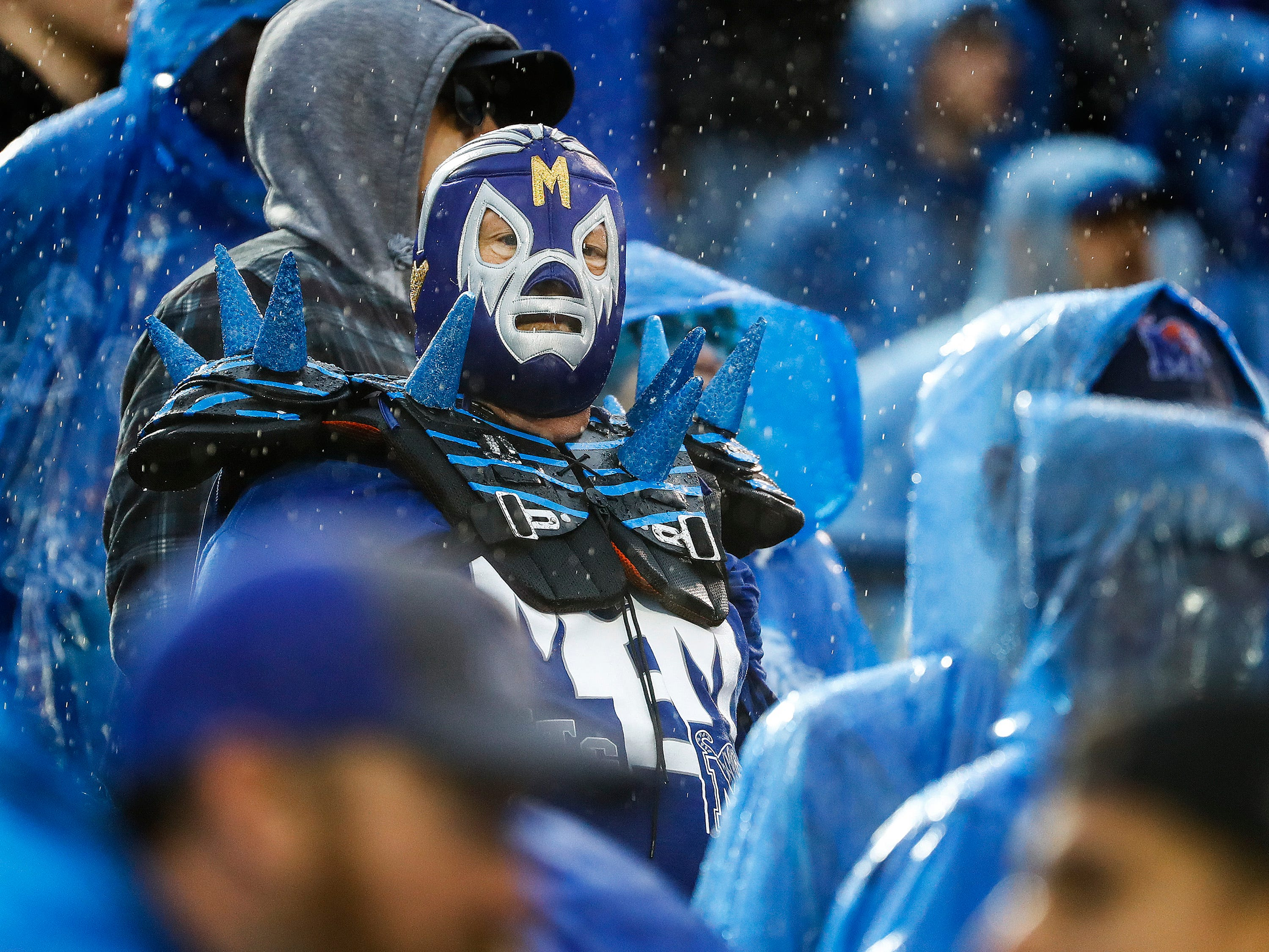 Memphis fans watch as the Tigers fall to Central Florida in a heartbreaking 31-30 loss in Memphis, Tenn., Saturday, October 13, 2018.