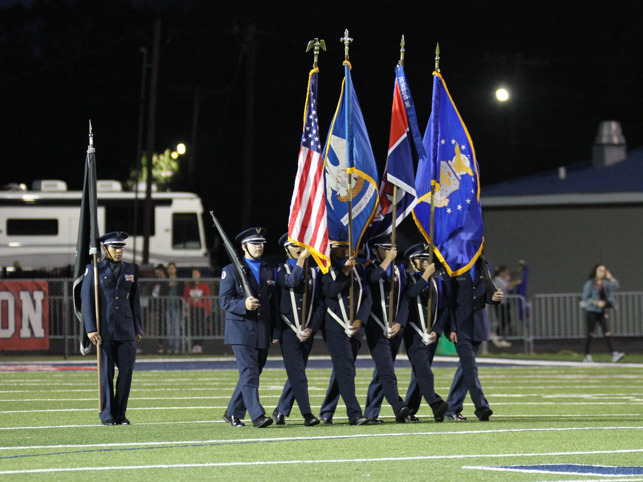 West Monroe defeats Alexandria 37-17 at West Monroe High School in West Monroe, La. on Oct. 12