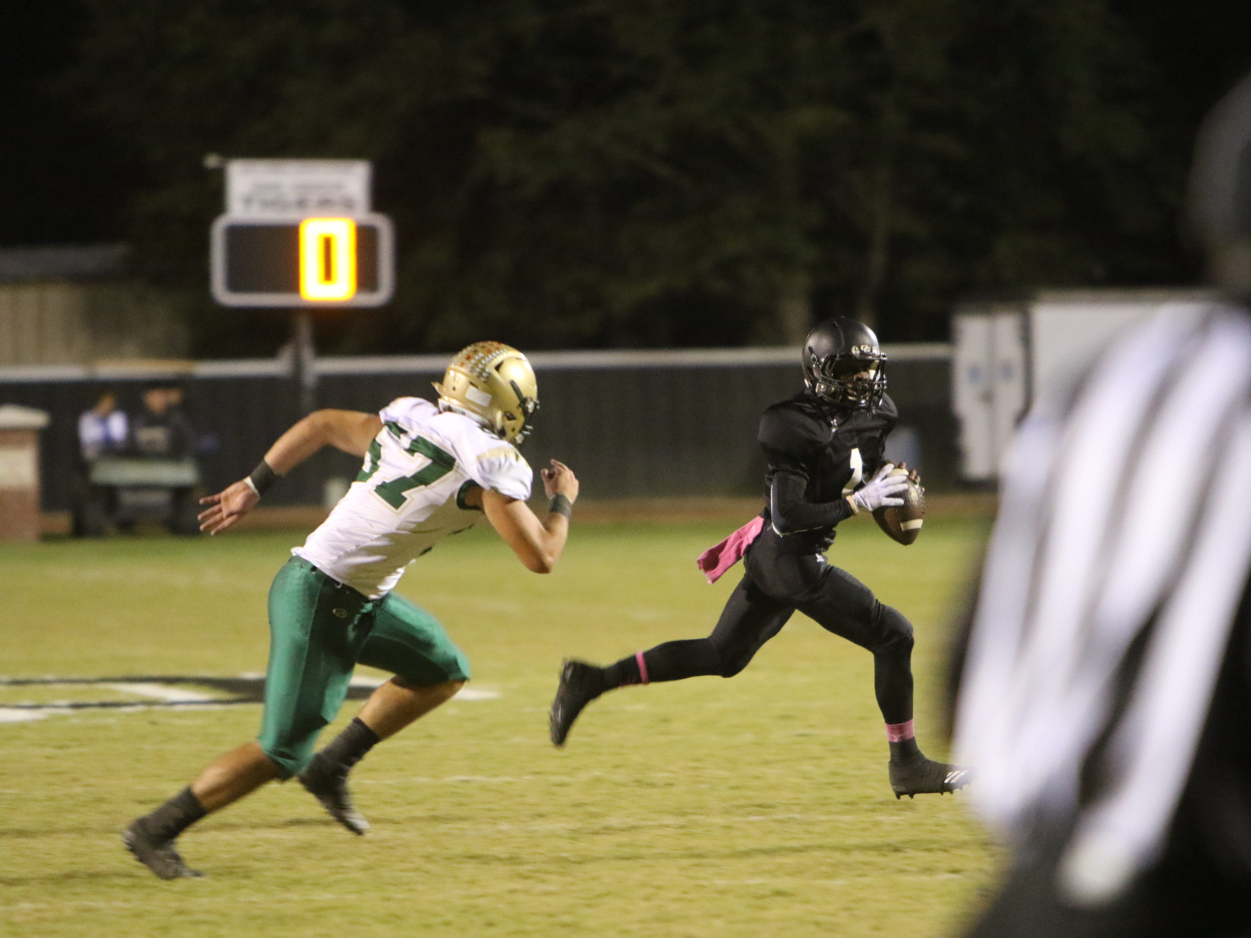 The Ouachita Christian Eagles traveled to Oak Grove to play the Tigers friday night, October 12.