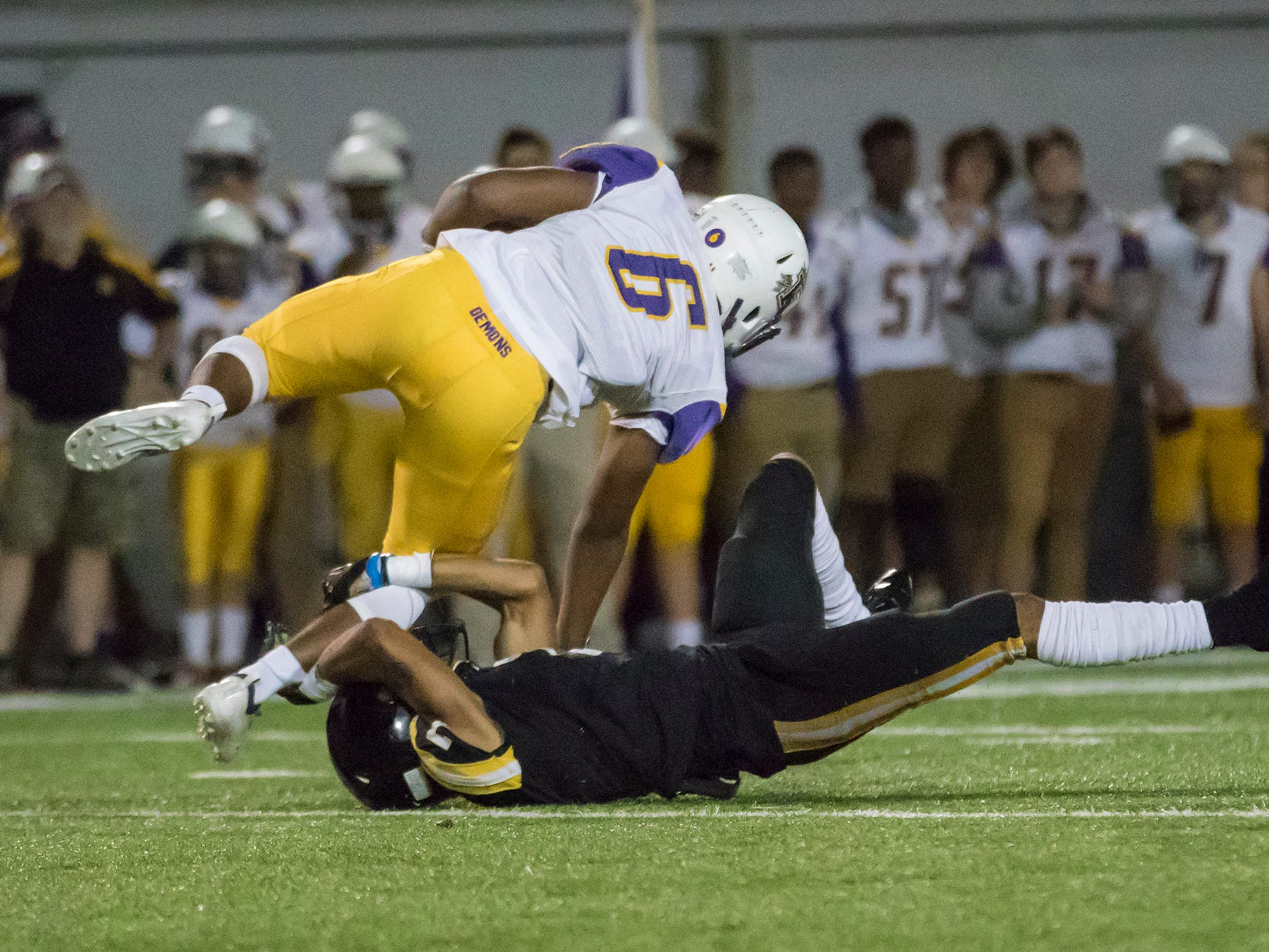 Neville defeated Franklinton Parish in a 48-20 rout at Neville High School in Monroe, La on Oct. 12.