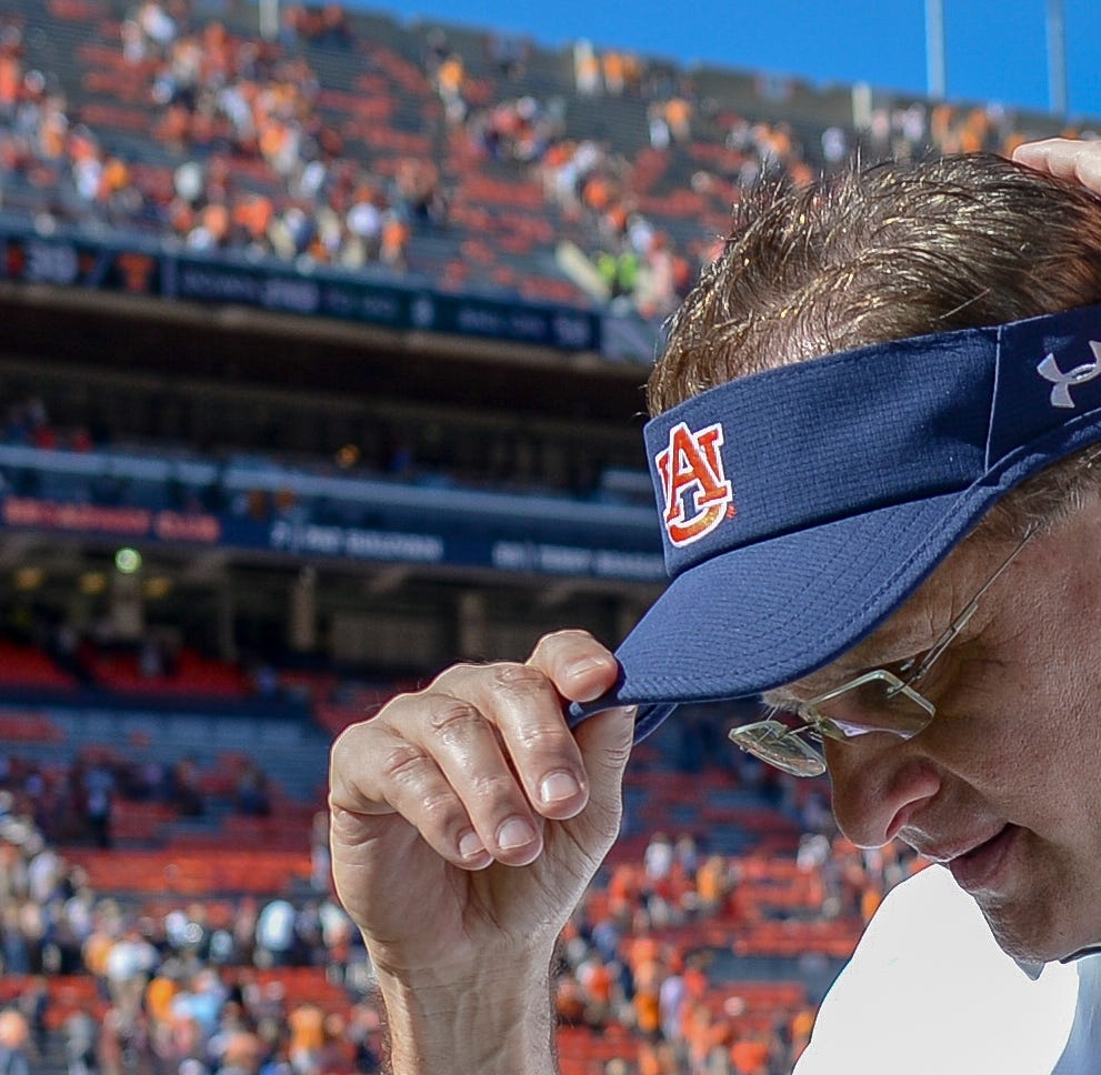 Auburn's Gus Malzahn doesn't feel like he's coaching for his job