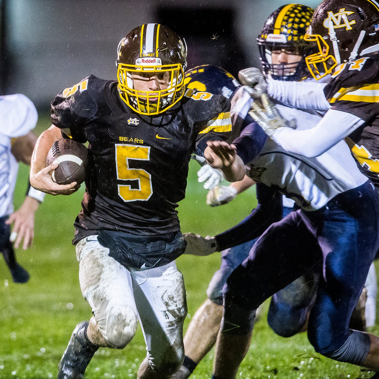 How Monroe Central has rallied through a season of odd injuries