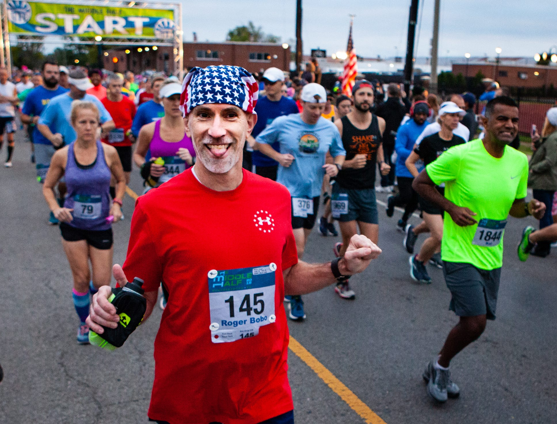 The 12th annual Murfreesboro Half Marathon, also known as The Middle Half, was held Saturday, Oct. 13, 2018