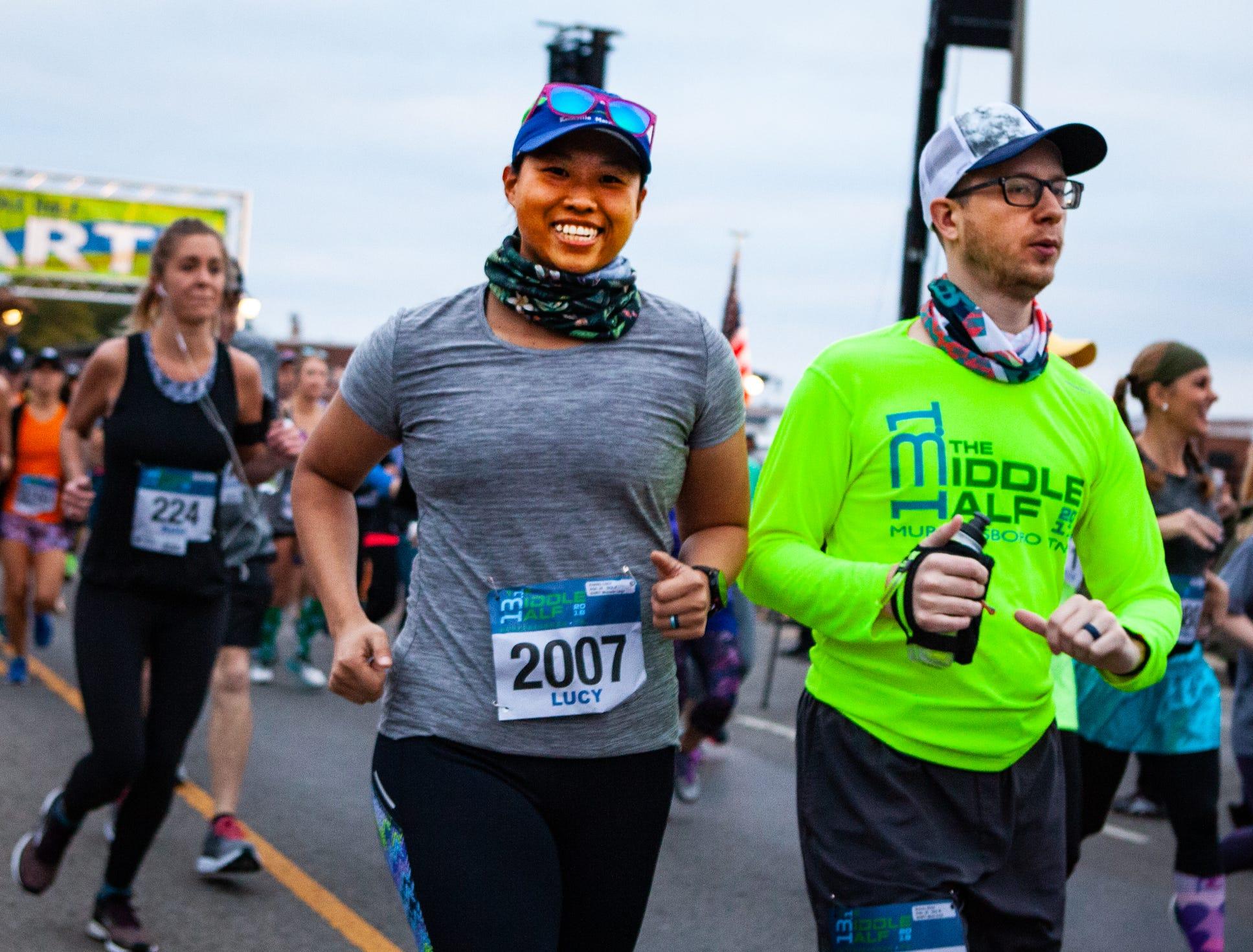 The 12th annual Murfreesboro Half Marathon, also known as The Middle Half, was held Saturday, Oct. 13, 2018