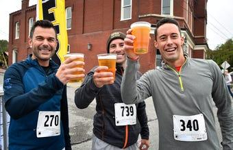 The annual 5K Bier Run at Octoberfest