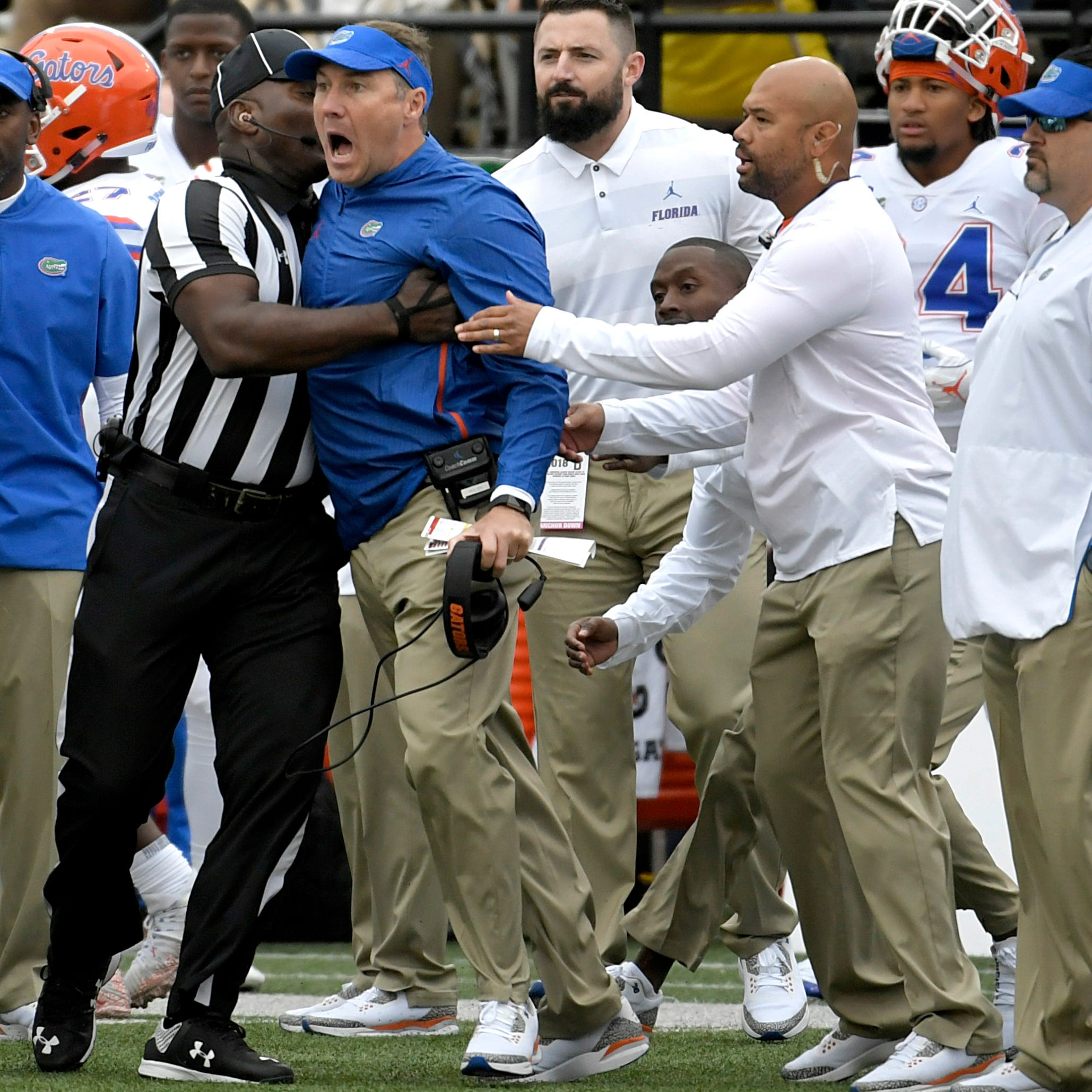 SEC not punishing Florida, Vanderbilt over Dan Mullen, Derek Mason confrontation