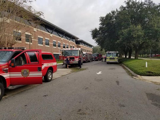 Firefighters from Greater Naples Fire Rescue went north to provide aid to areas devastated by Hurricane Michael.