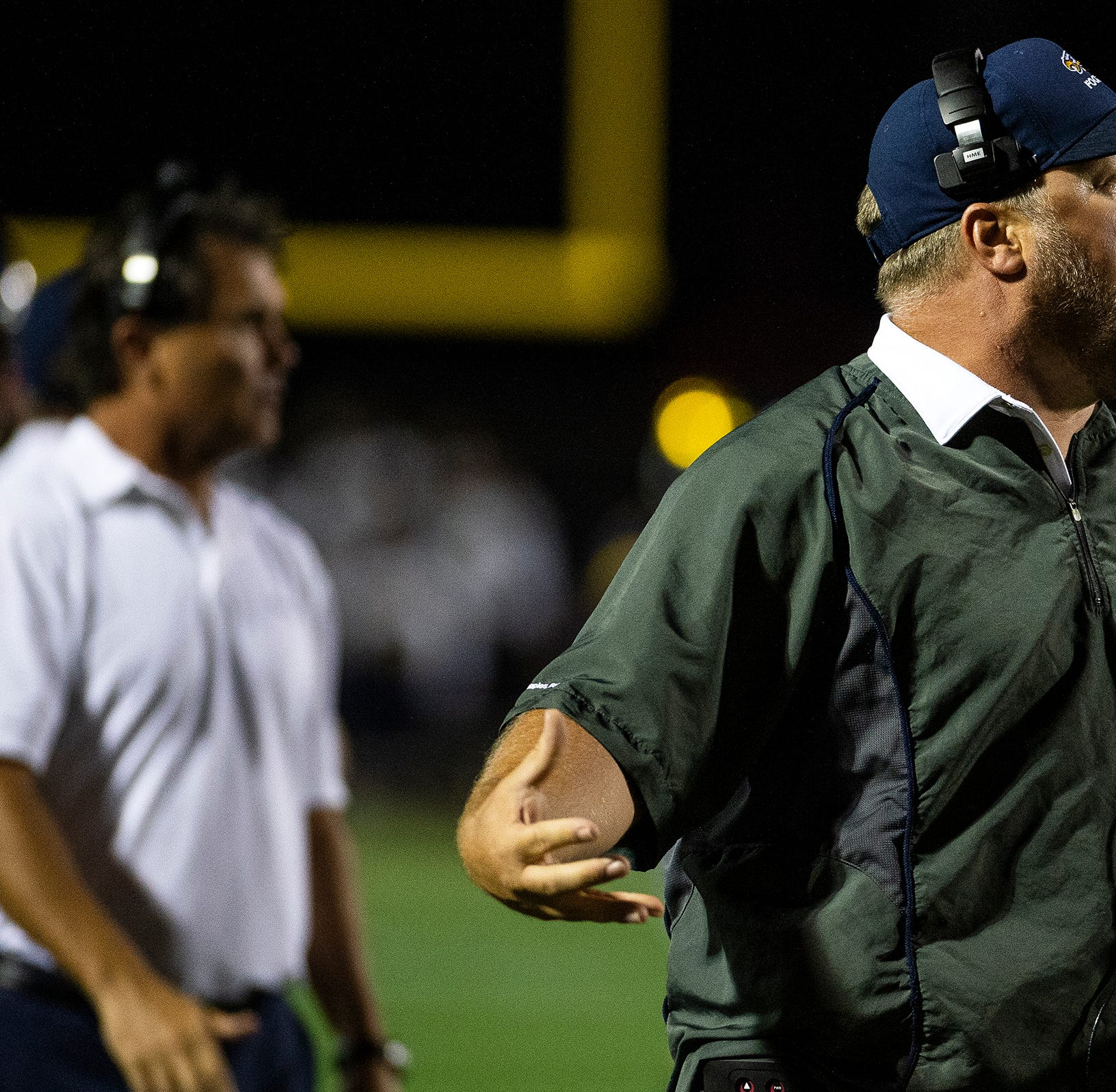 High school football notebook: Dollar defense and his wife deliver