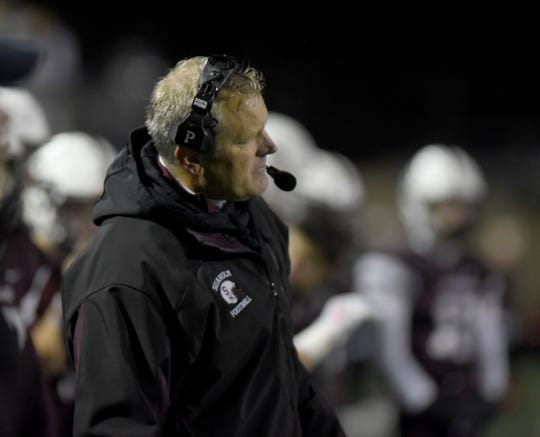 Birmingham Seaholm coach Jim DeWald has guided the Maples to a 7-1 record and a OAA Blue Division title going into the final week of the regular season against rival Groves.