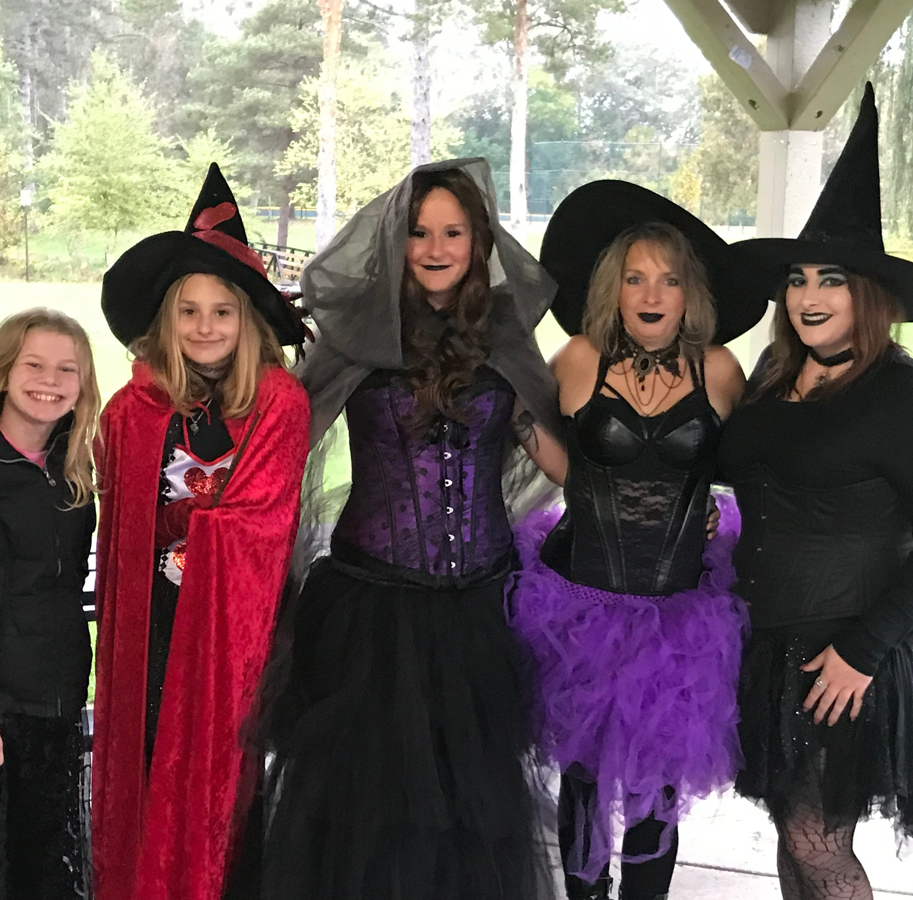 Witching hour: Rain can't dampen enthusiasm of Milford witches