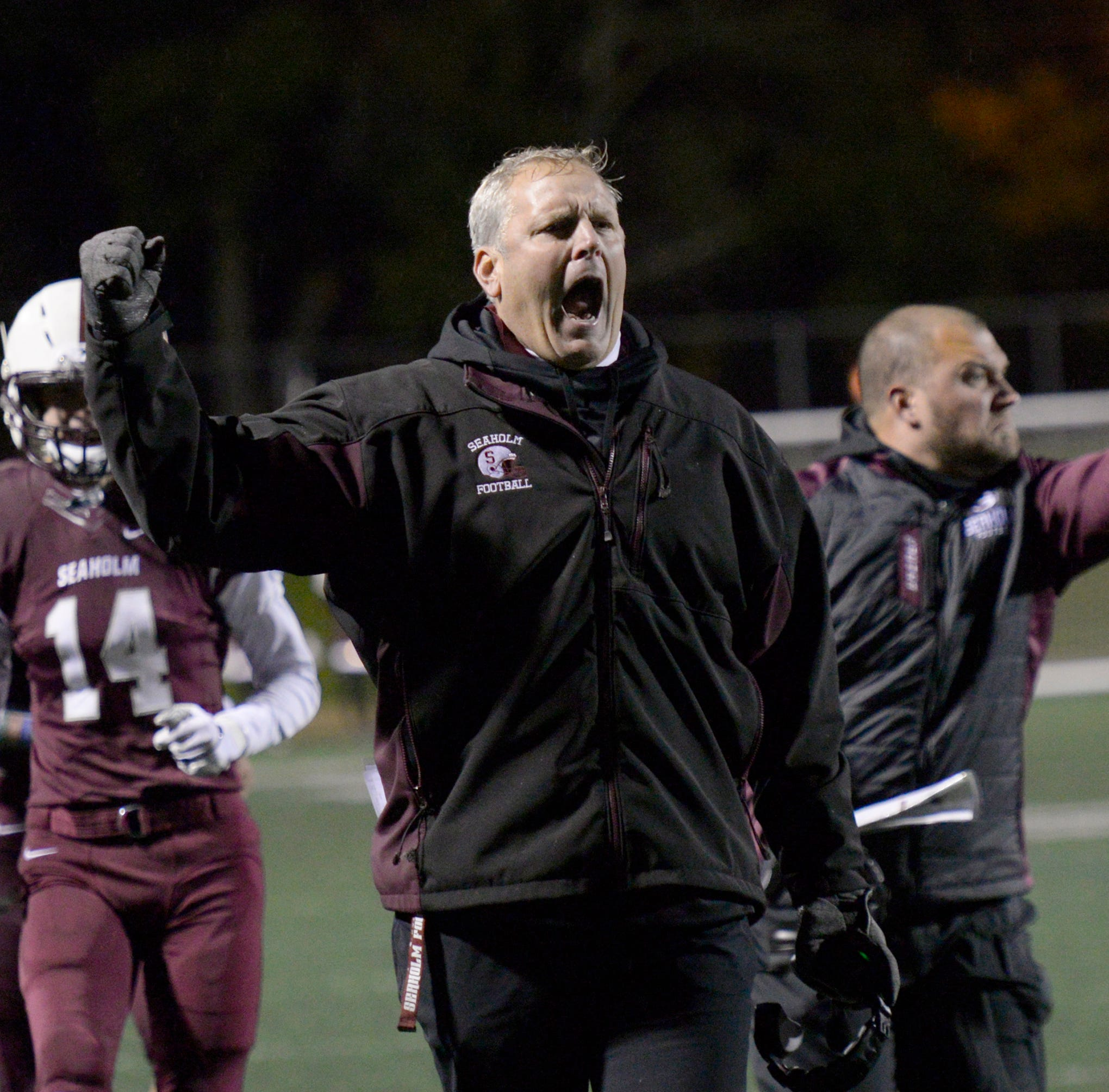 Mentag helps return Blue Division football championship to Seaholm