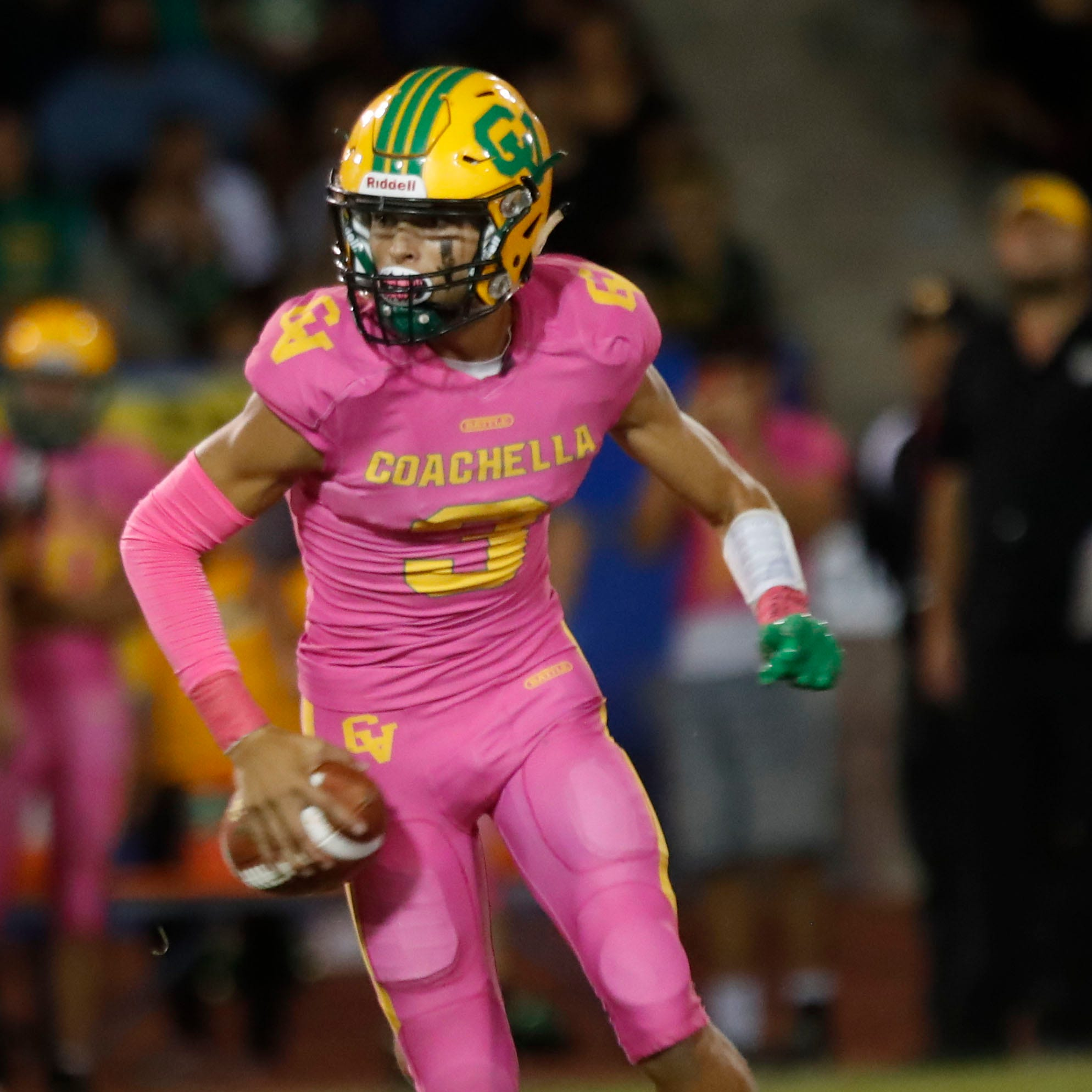 Pink uniforms, a lightning delay and another record mark Coachella Valley's Victory Bell win