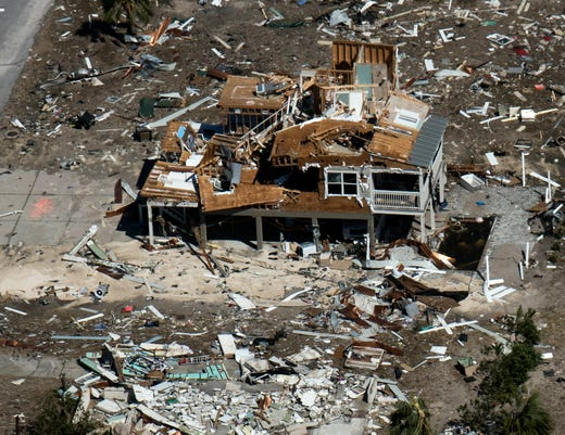 Aerials Of Hurricane Michael Damage