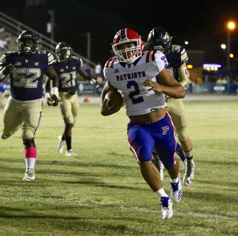 PNJ High School Football Scoreboard Live: Week 8 (Oct. 12)
