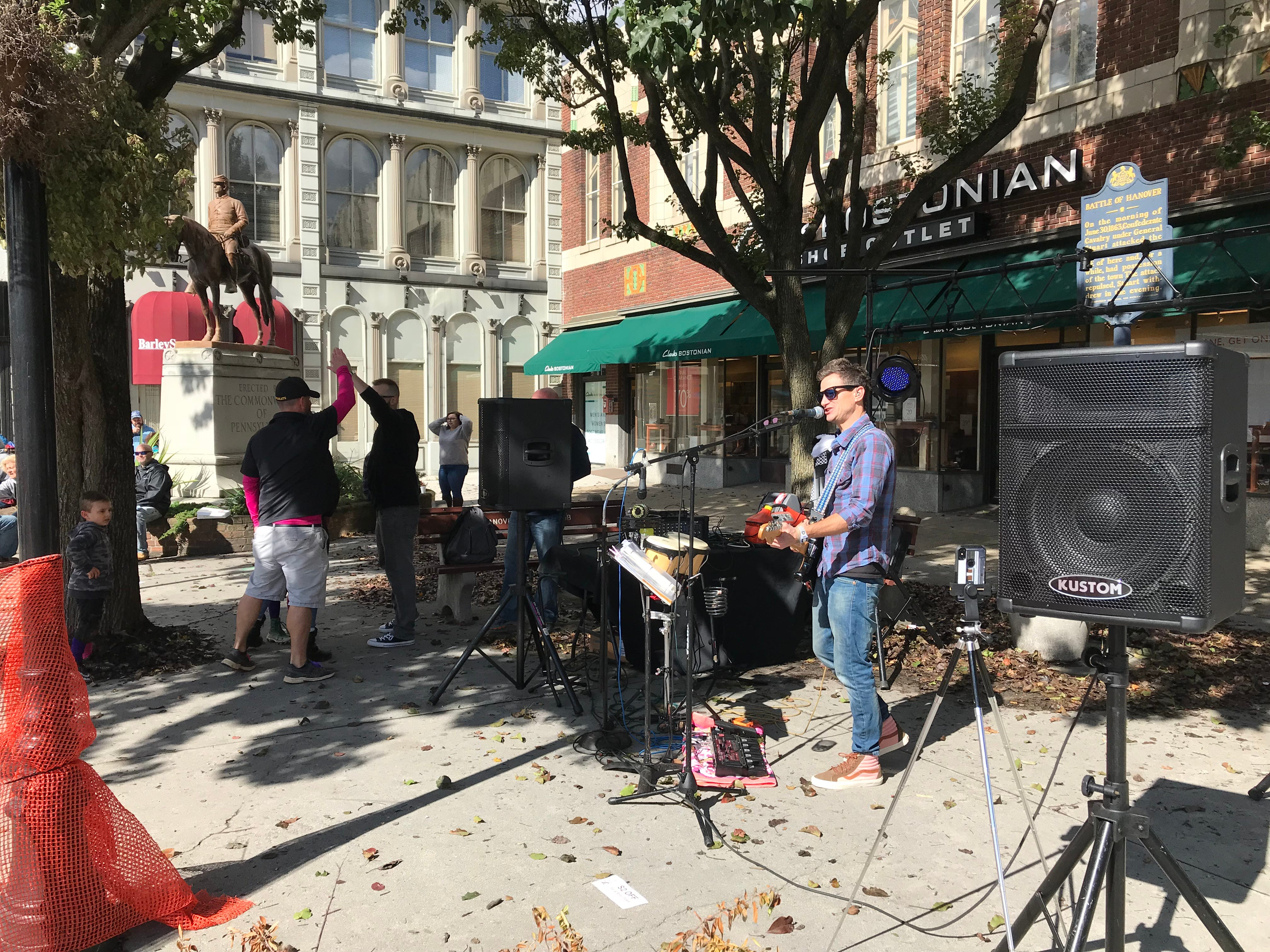 Downtown Hanover businesses and vendors pair up to offer area beers and ciders in the Fall Sip & Stroll, hosted by Main Street Hanover on Saturday, October 13, 2018.