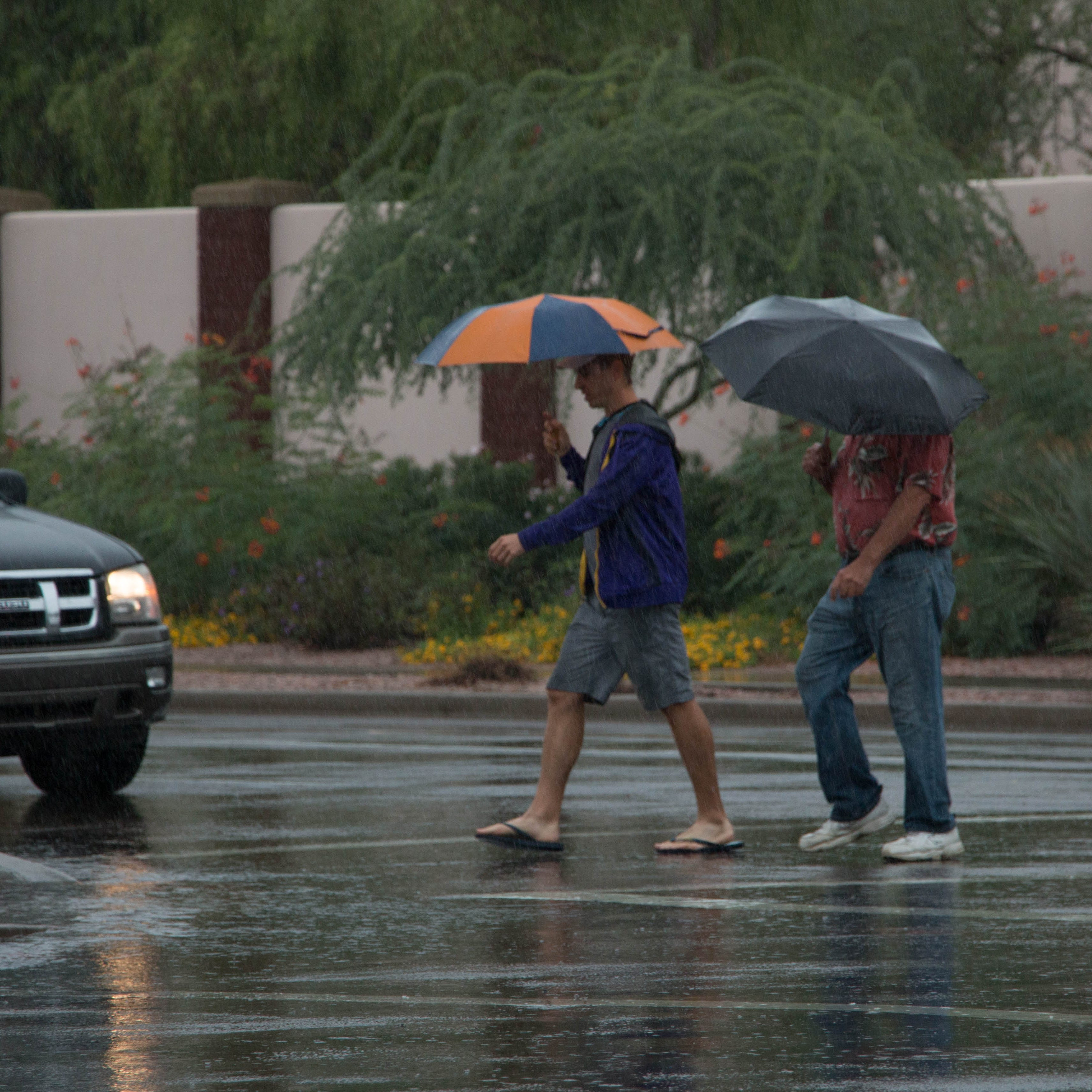 Wet weather to continue in parts of Phoenix through Tuesday