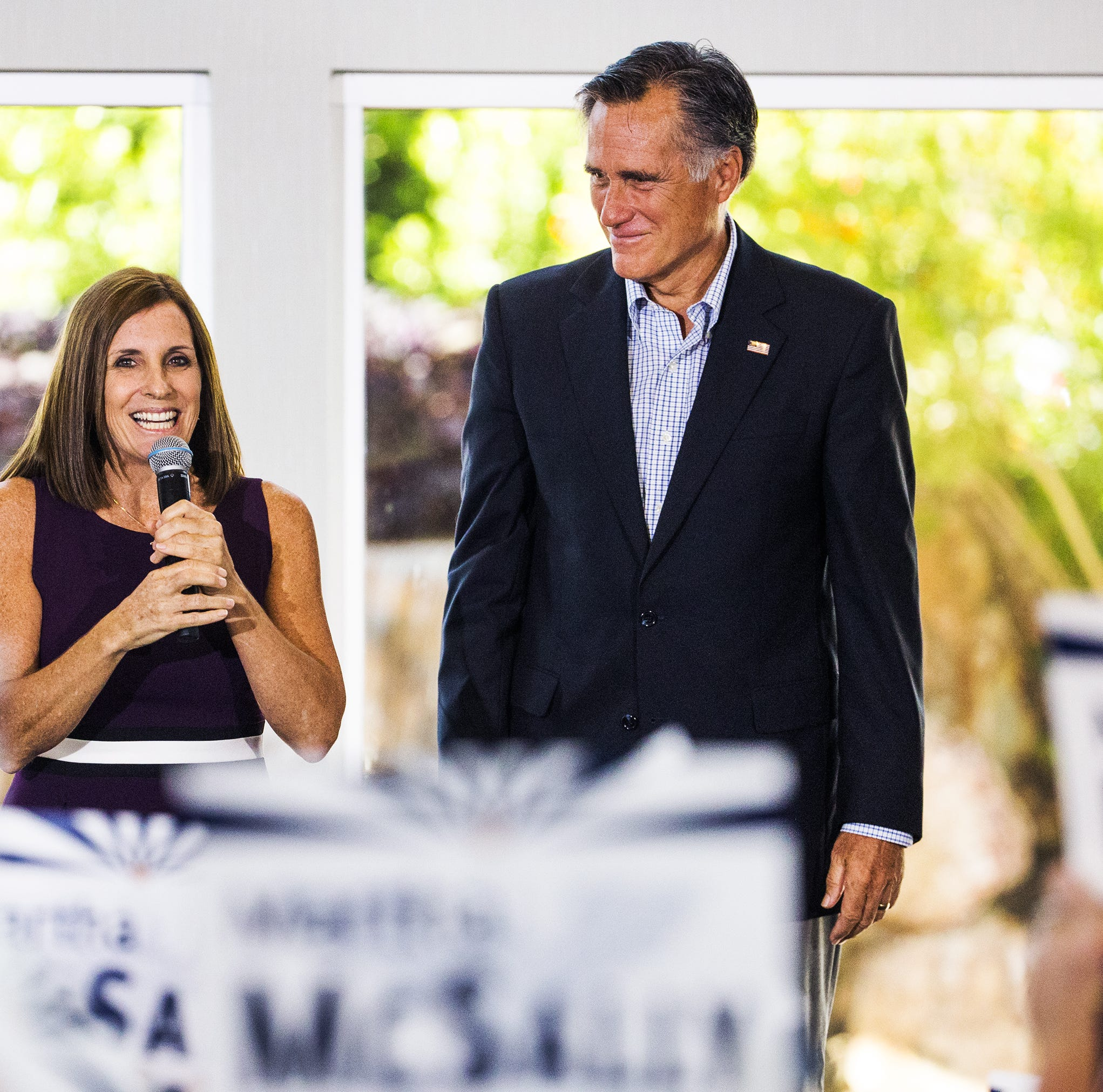 Mitt Romney boosts Martha McSally: She 'has fought for American safety'