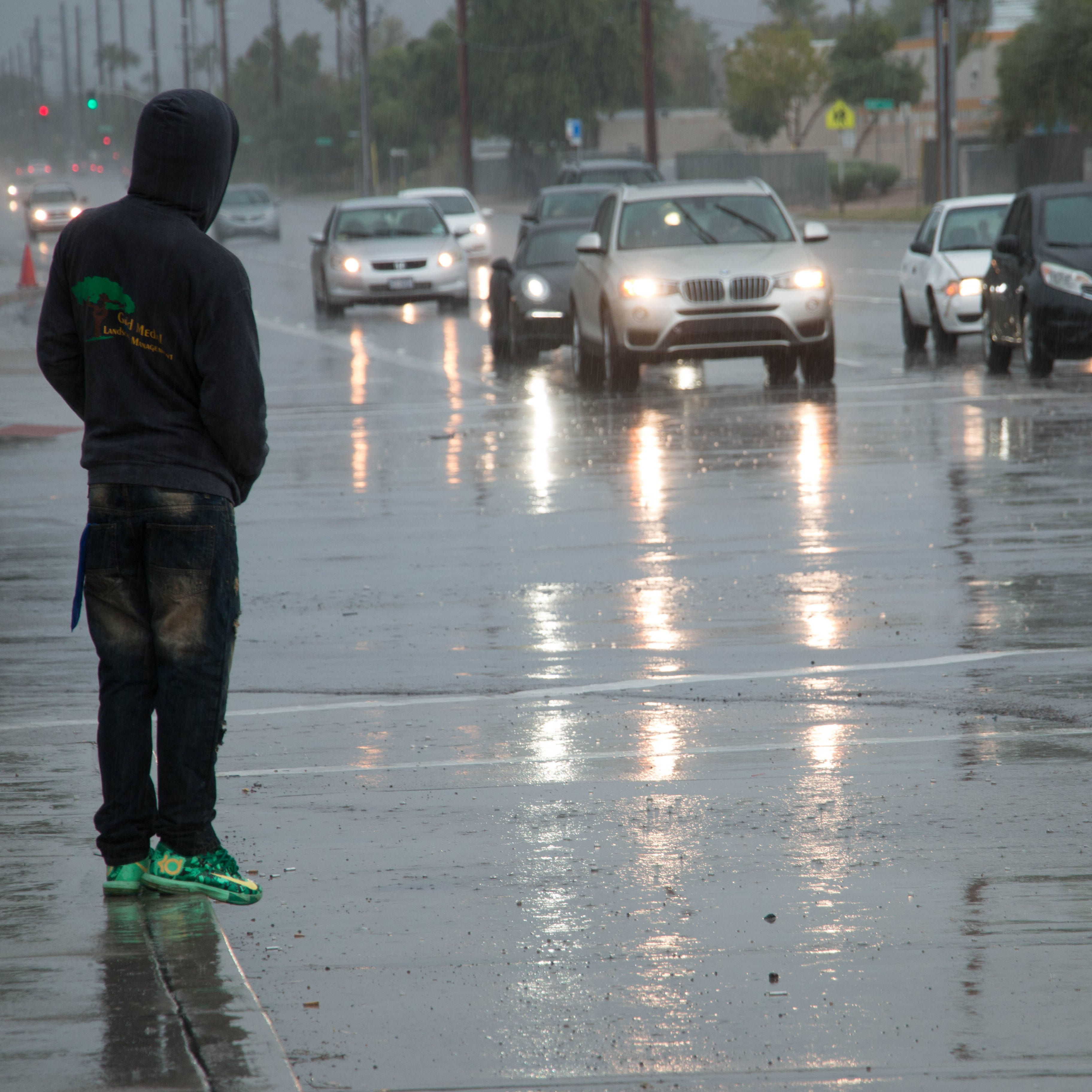Hurricane Sergio remnants dump on Phoenix area; flash-flooding watch in effect