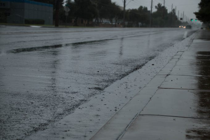 Remnants from Hurricane Sergio have caused flooding on streets around the valley.