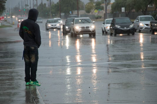 Hurricane Sergio rain