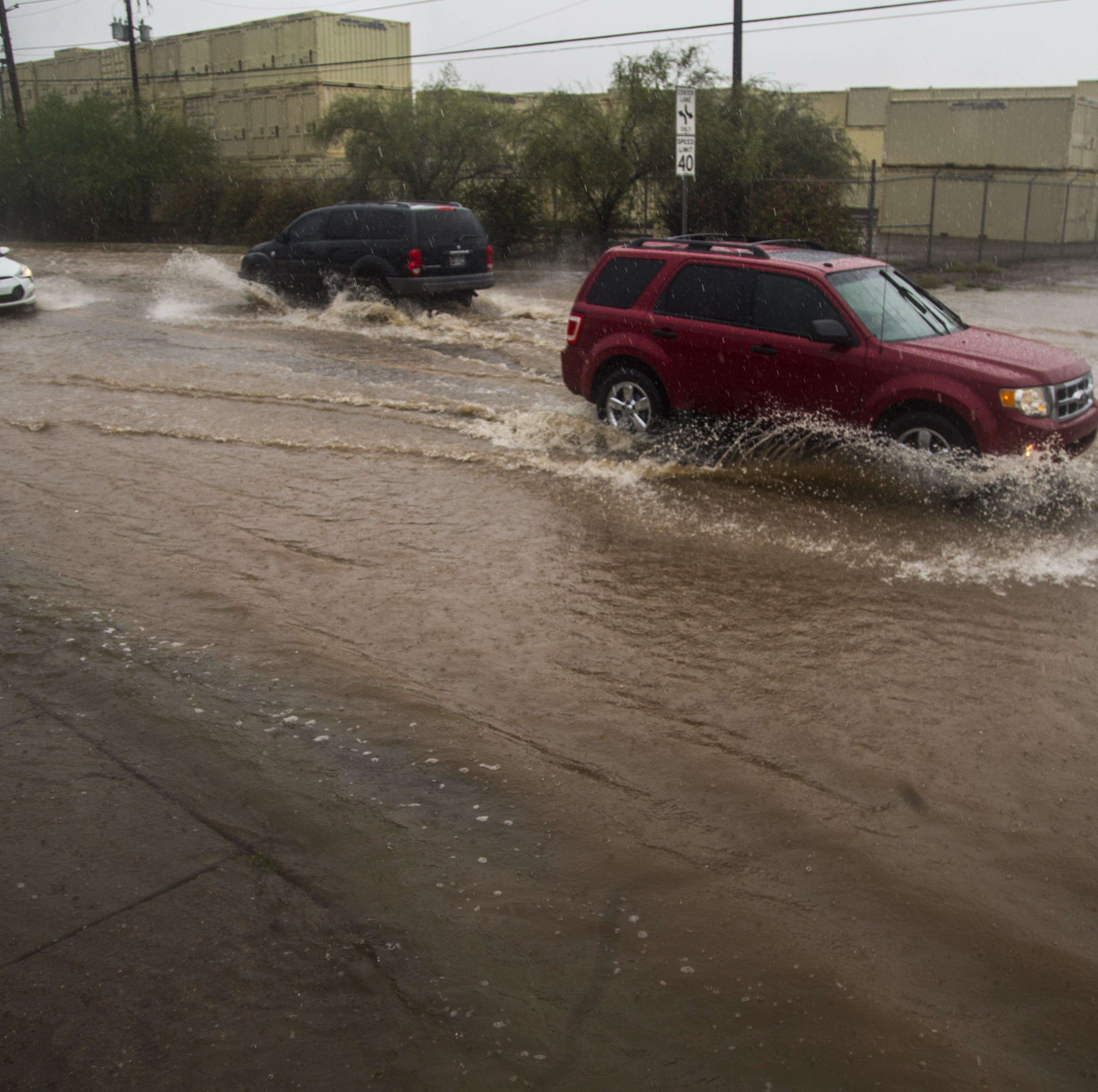 Hurricane Sergio remnants dump on Phoenix area; flash-flood watch in effect until Sunday morning