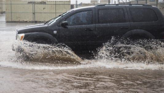 Hurricane Sergio brings rain to the Valley