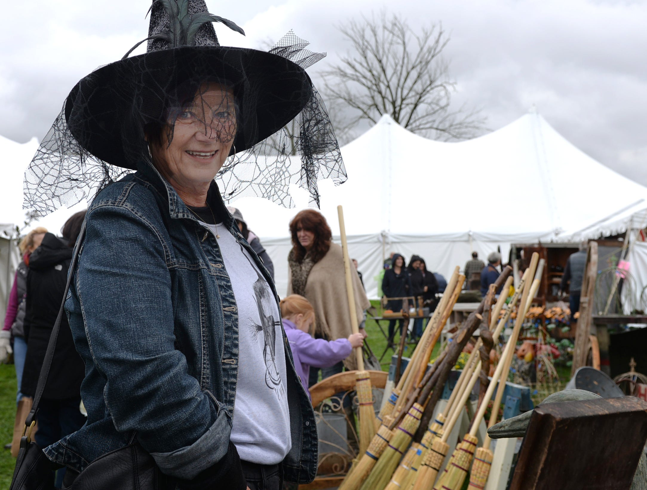 The Witches in Myerstown PA Antique & Artisan Tent Show was held at Tulpehocken Manor in Jackson Township on October 13, 2018.