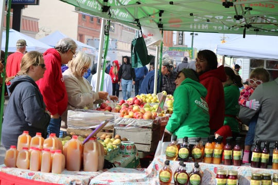 Apples came in just about every way they could at the 40th annual Oak Harbor Apple Festival.